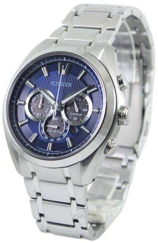 Citizen Eco-Drive Titanium Chronograph CA4010-58L Mens Watch