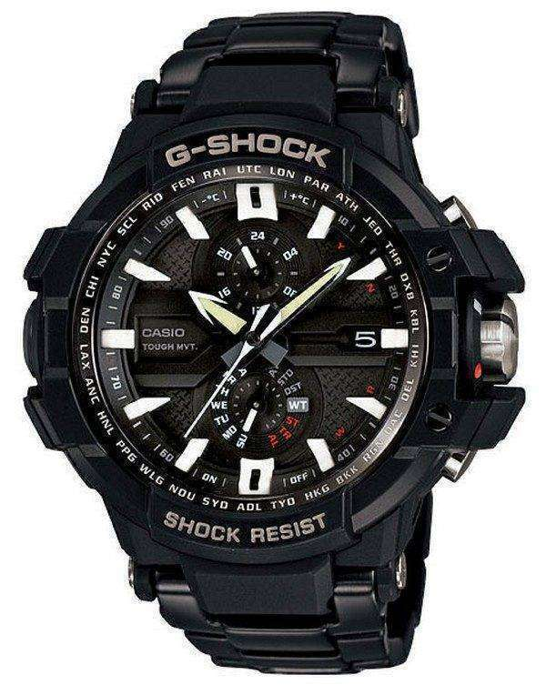 Casio Sky Cockpit Triple G Bracelet GW-A1000D-1AJF Mens Watch