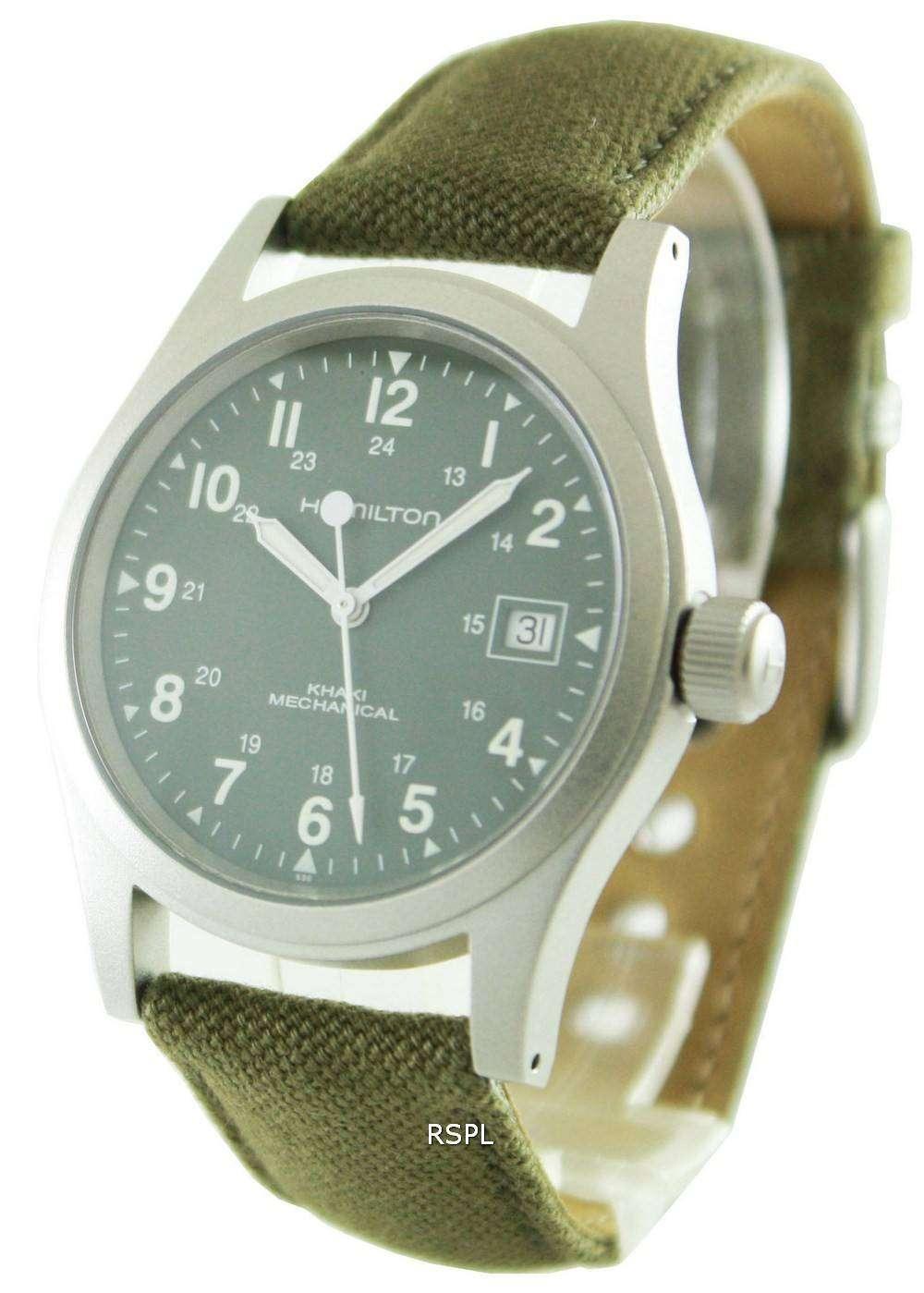 Hamilton Khaki Field Mechanical H69419363 Mens Watch Citywatches Co Uk