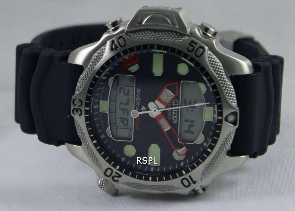 Citizen aqualand diver depth meter promaster jp1010 00e jp1010 mens watch - Citizen promaster dive watch ...