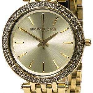 Michael Kors Darci Glitz Crystals Pave Bezel MK3191 Womens Watch