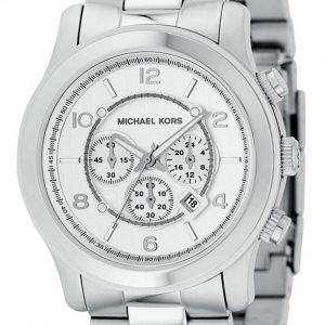 Michael Kors Silver Runway MK8086 Mens Watch