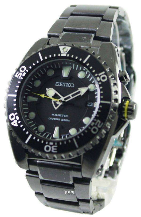 Seiko Kinetic Divers Ion Plated Watch 200m SKA427P1 SKA427P Mens watch