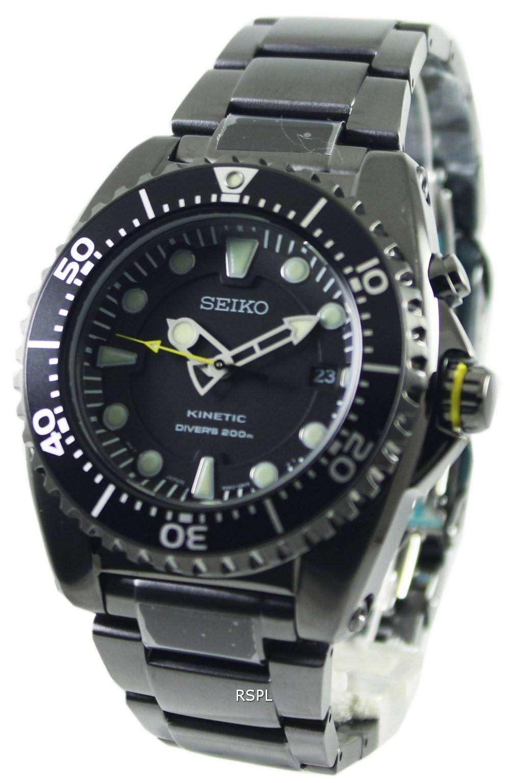 e87dd5598ec80 Seiko Kinetic Divers Ion Plated Watch 200m SKA427P1 SKA427P Mens watch