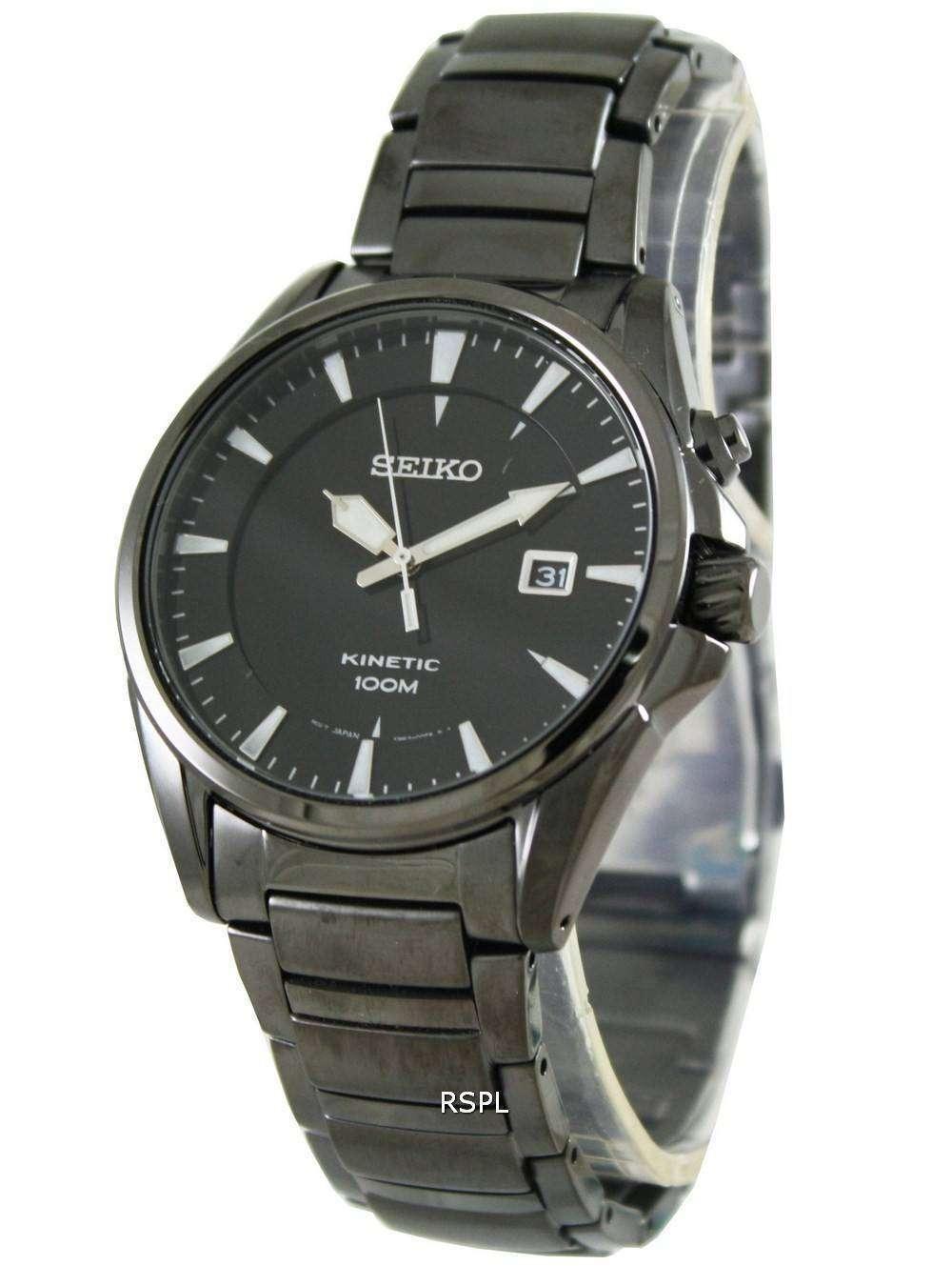 Seiko mens watch kinetic ska567p1 ska567p ska567 for Movado kinetic
