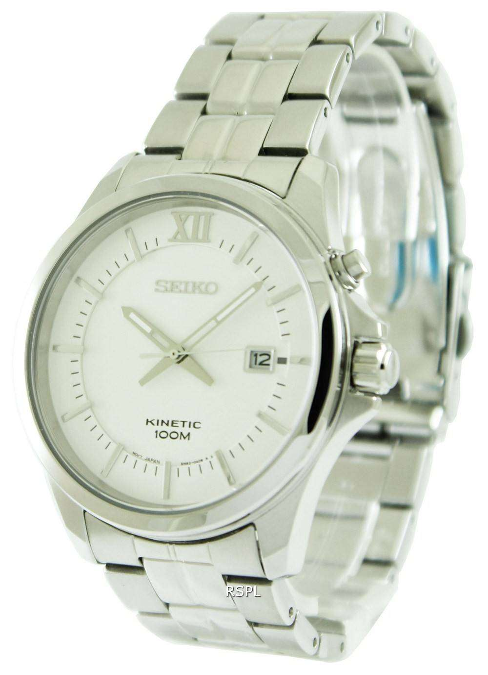 Seiko kinetic ska571p1 ska571p mens watch for Seiko kinetic watches