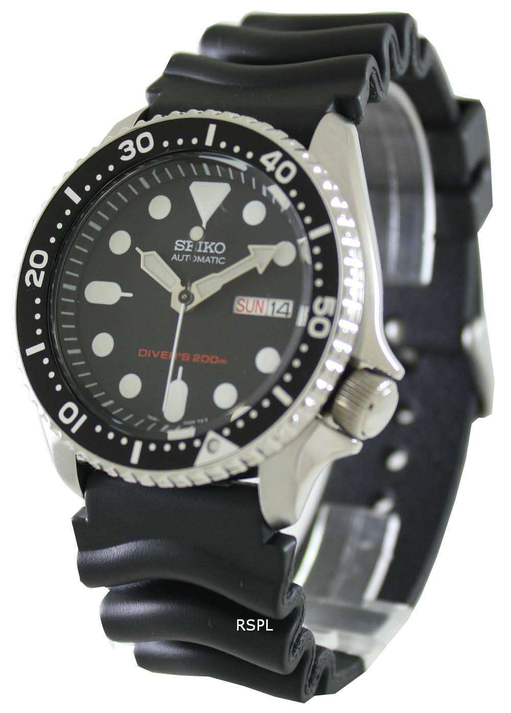 seiko automatic divers rubber band skx007k1 skx007k mens watch seiko automatic divers rubber band skx007k1 skx007k mens watch 1