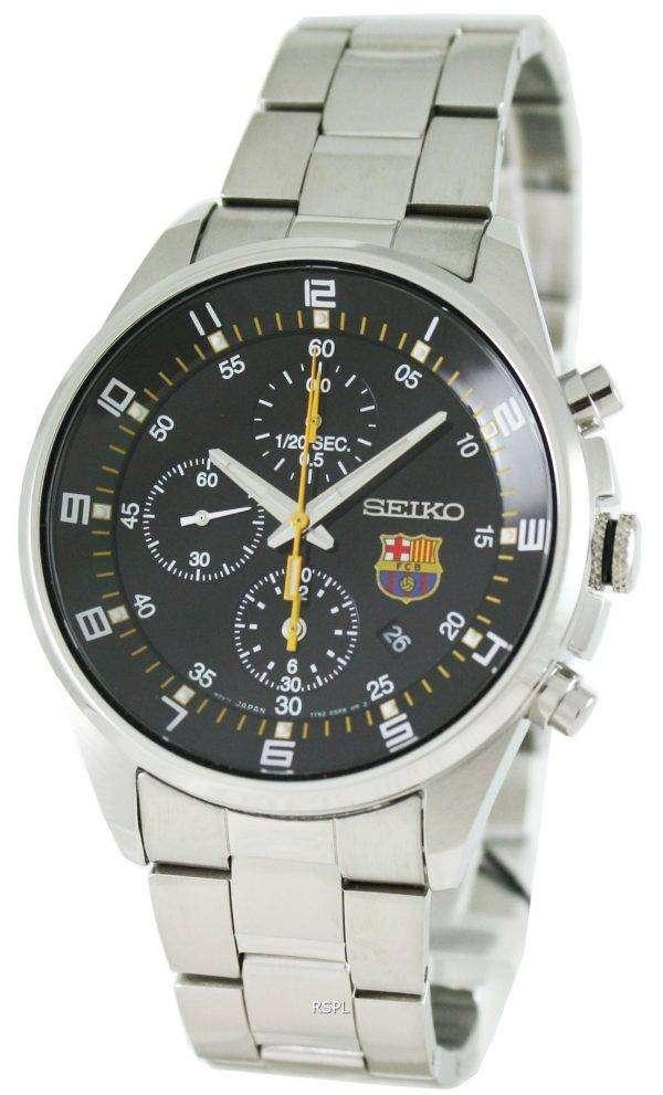 Seiko Chronograph F.C. Barcelona SNDD23P1 SNDD23 SNDD23P Mens Watch