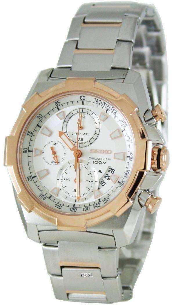 Seiko Quartz Chronograph SNDD50P1 SNDD50P Mens Watch