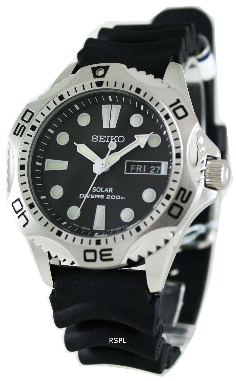 Tag Heuer Uk >> Seiko Solar Scuba Diver Sports SNE107P2 Mens Watch - CityWatches.co.uk
