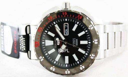 Seiko Mens 5 Sports Automatic 24 Jewels 100M SRP361K1 SRP361K SRP361 Watch