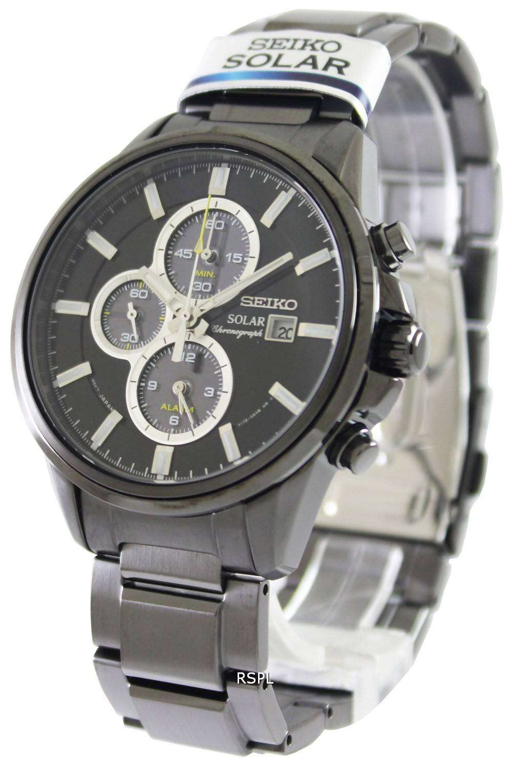 seiko solar chronograph ssc257p1 ssc257p mens watch. Black Bedroom Furniture Sets. Home Design Ideas