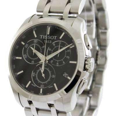Tissot Couturier Quartz Chronograph T035.617.11.051.00 Mens Watch