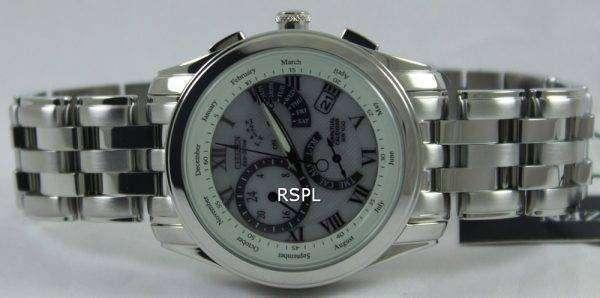 Citizen Eco-Drive Chronograph Perpetual Calendar BL8000-54A BL8000-54 Watch