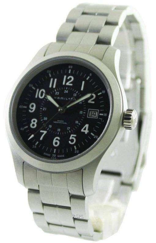 Hamilton Khaki Field Mechanical Officer H69519133 Mens Watch