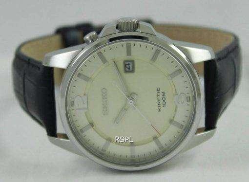 Seiko Kinetic 100M SKA667P1 SKA667P Mens Watch