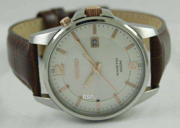 Seiko Kinetic 100M SKA669P1 SKA669P Mens Watch