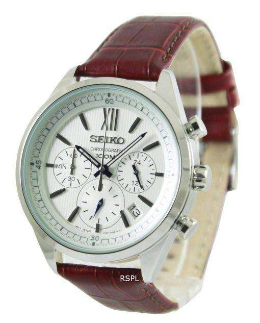Seiko Chronograph 100M SSB157P1 SSB157P Mens Watch