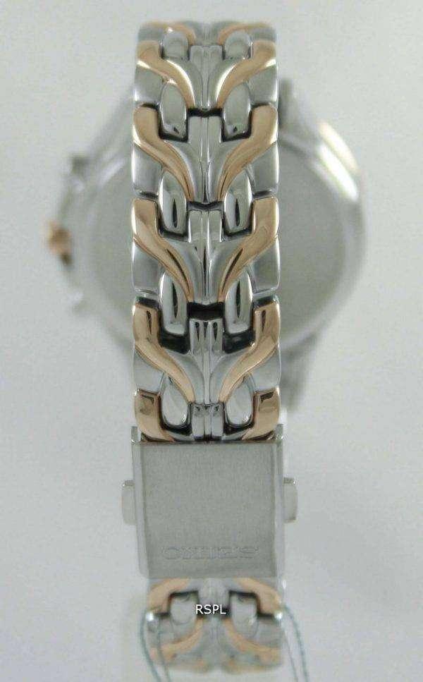 Seiko Core Solar Chronograph Swarovski Crystals SSC874P1 SSC874P Womens Watch