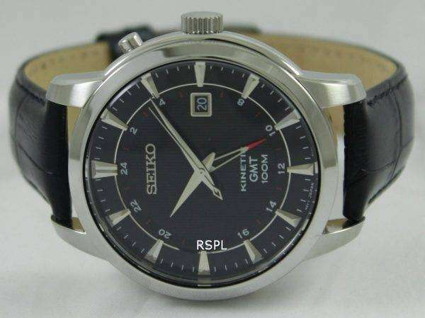 Seiko Kinetic GMT SUN033P2 Mens Watch