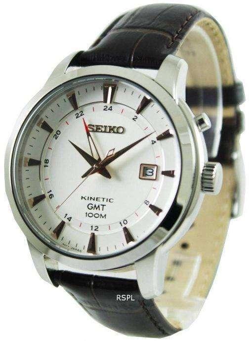 Seiko Kinetic GMT SUN035P1 SUN035P Mens Watch