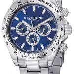 Stuhrling Original Concorso Raceway Swiss Quartz Tachymeter 564.03 Mens Watch