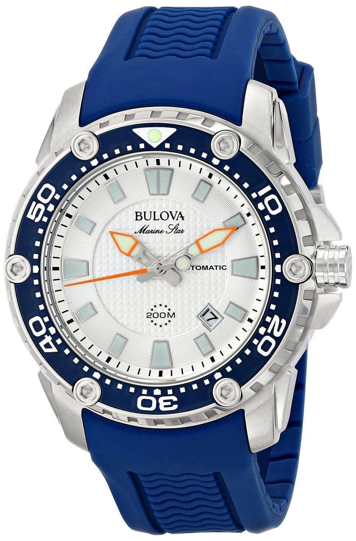 Bulova Marine Star Automatic Divers 200M 98B208 Mens Watch ...