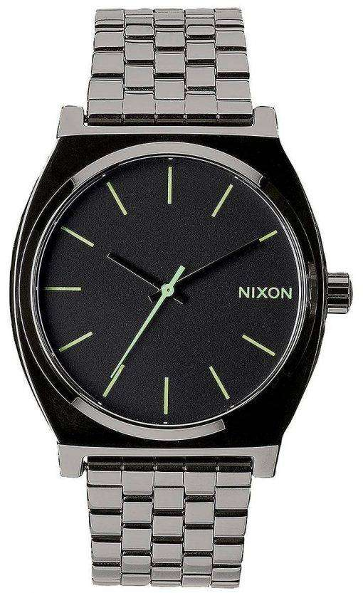 Nixon Time Teller Polished Gunmetal A045-1885-00 Mens Watch