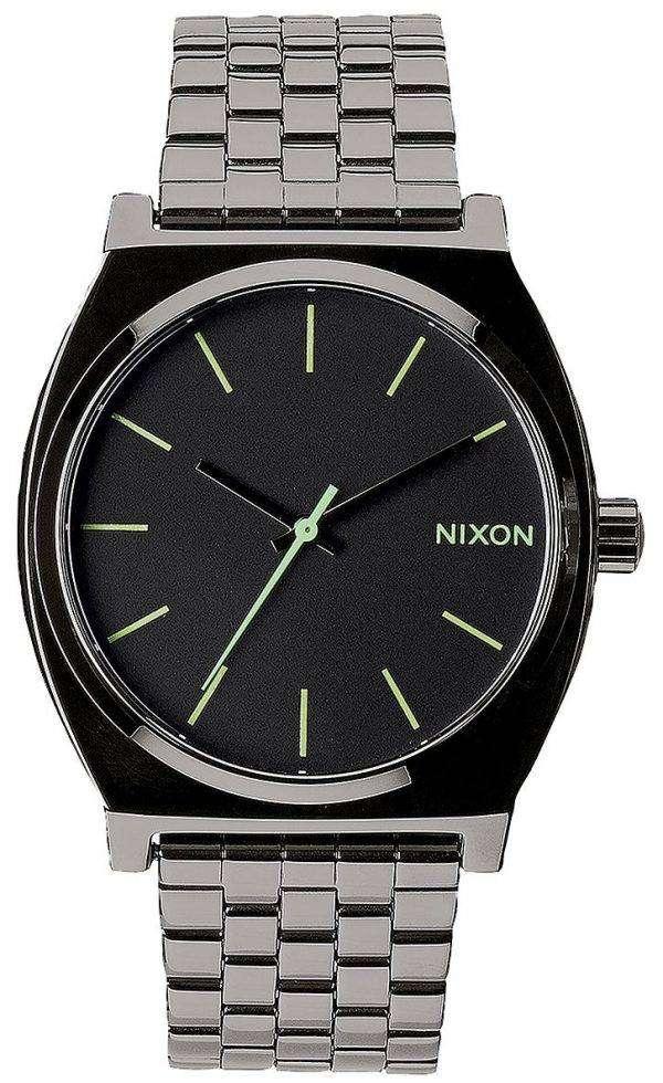 Nixon Time Teller Polished Gunmetal A045-1885-00 Mens Watch