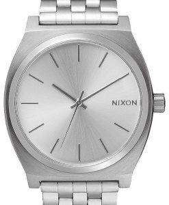 Nixon Time Teller All Silver A045-1920-00 Mens Watch