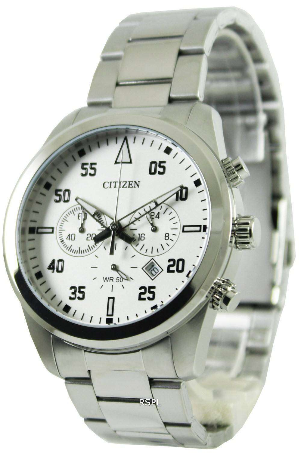 citizen quartz chronograph an8090 56a mens