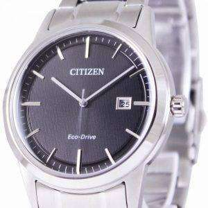 Citizen Eco-Drive Black Dial AW1231-58E Mens Watch