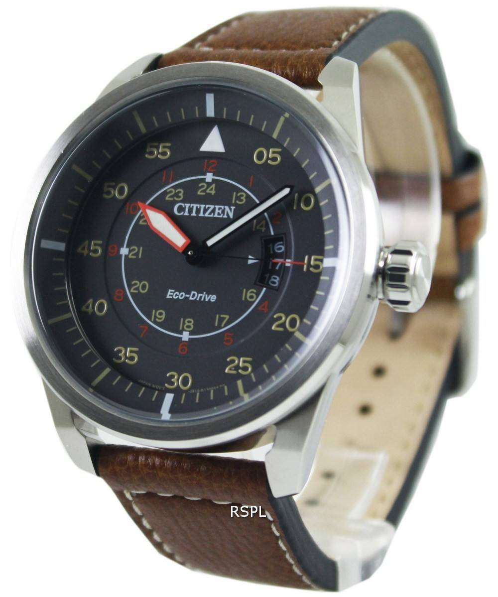 f9aa2fa30 Citizen Eco-Drive Aviator Power Reserve AW1360-12H Mens Watch ...