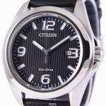 Citizen Eco-Drive Black Dial AW1430-19E Mens Watch