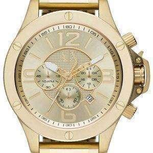 Armani Exchange Chronograph Champagne Dial AX1504 Mens Watch