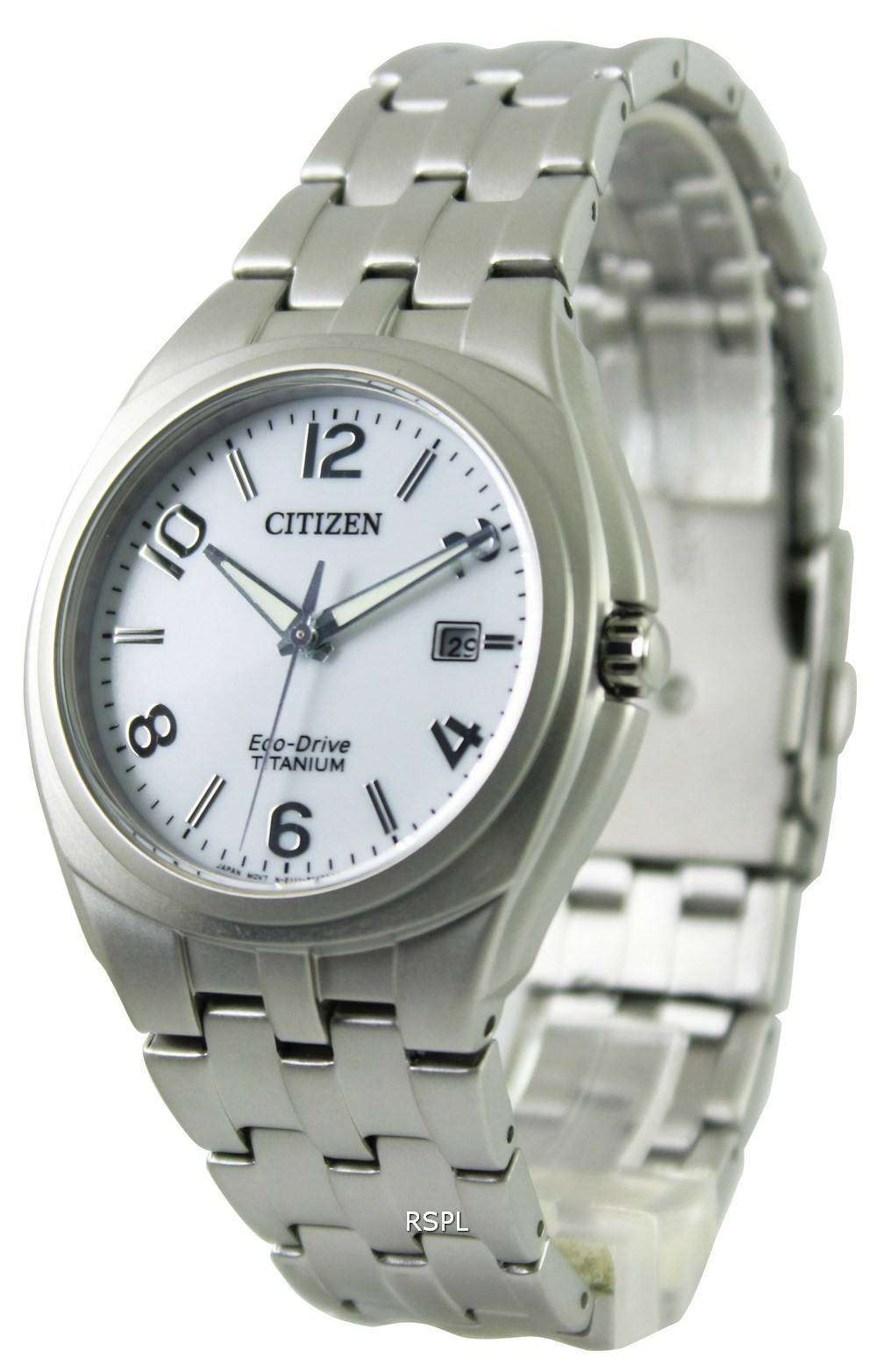 citizen eco drive titanium bm7150 51b mens