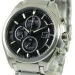 Citizen Eco Drive Super Titanium Chronograph CA0350-51E Mens Watch