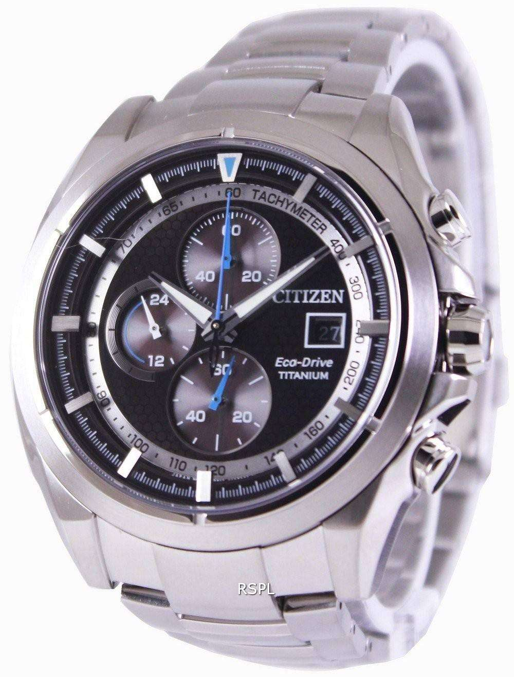 b8f079c776c Citizen Eco-Drive Titanium Chronograph CA0550-52E Mens Watch ...