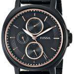 Fossil Chelsey Multifunction Black IP Stainless Steel ES3451 Womens Watch