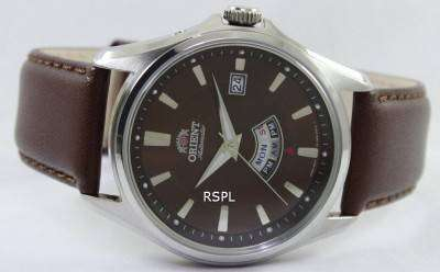 Orient Classic Automatic AM/PM Indicator FFN02006T FN02006T Mens Watch
