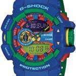 Casio G-Shock Analog-Digital Hyper Colors 200M GA-400-2A Mens Watch