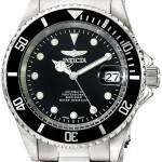 Invicta Automatic Pro Diver 200M WR Black Dial Stainless Steel 17044 Men's Watch