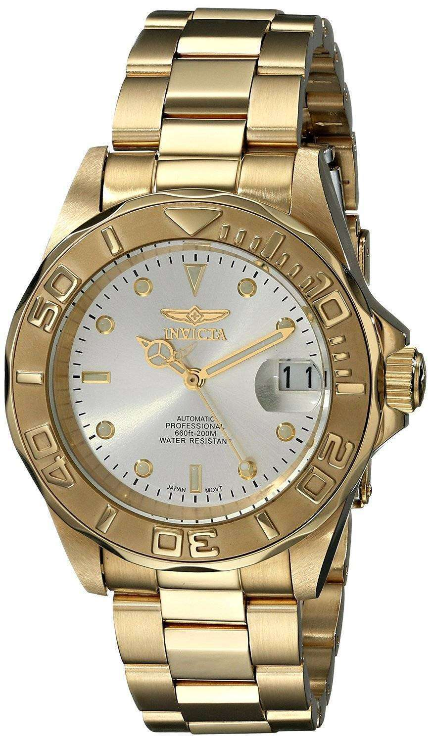 Invicta Pro Driver Automatic Gold Dial INV9010 9010 Mens Watch ... 16c7701b8c