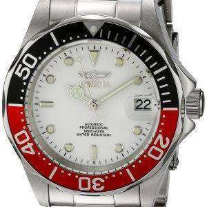 Invicta Automatic Pro Diver 200M Silver Tone Dial INV9404/9404 Mens Watch