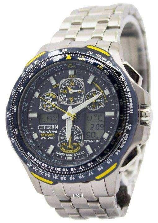 Citizen Skyhawk Eco Drive Titanium Radio Controlled JY0050-55L JY0050 Promaster Men's Watch