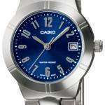 Casio Analog Quartz Blue Dial LTP-1241D-2A2DF LTP-1241D-2A2 Womens Watch