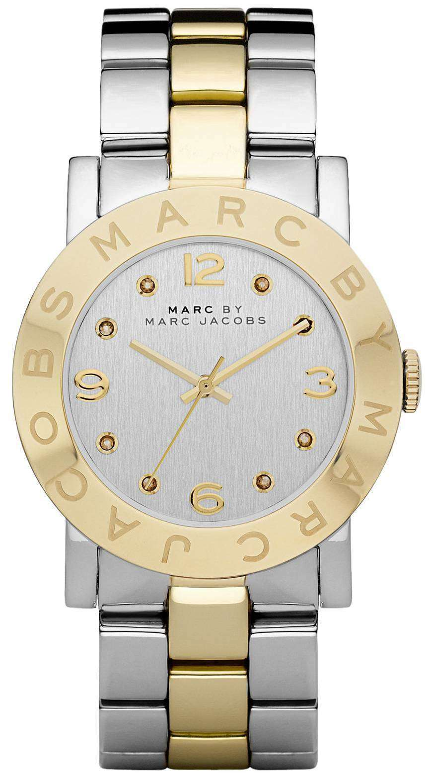 Marc By Marc Jacobs Amy Silver Dial Stainless Steel MBM3139 Womens Watch 526dcfc466
