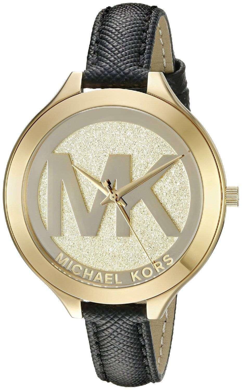 9e11f9ee62c6 Michael Kors Slim Runway Gold Dial MK2392 Womens Watch - CityWatches ...