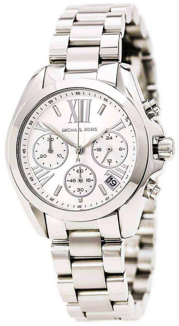 Michael Kors Bradshaw Chronograph Silver Dial MK6174 Womens Watch