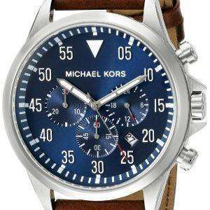 Michael Kors Gage Chronograph Blue Dial MK8362 Mens Watch